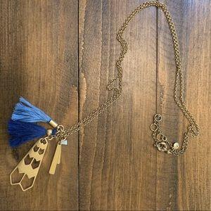 JCrew Tassel Necklace